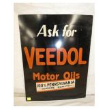 22X28 VEEDOL MOTOR OILS SIGN