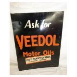 VIEW 2 VEEDOL MOTOR OILS SIGN