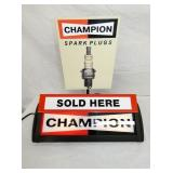 16X18 LIGHTED CHAMPION COUNTER DISPLAY