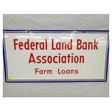 VIEW 2 OTHERSIDE PORC. FEDERAL FARM LOANS SIGN