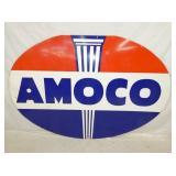 48X72 1958 PORC. AMOCO SIGN