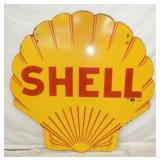 48IN PORC. SHELL CLAM SIGN