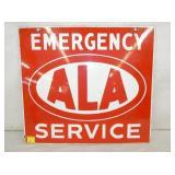 18X20 PORC. ALA EMERGENCY SERVICE SIGN