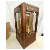 VIEW 3 16X32 REVOLVING OAK SPOOL CABINET