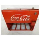 10X12 EMB. COCA COLA SALESMAN SAMPLER COOLER