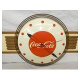 VIEW 2 COKE CLOCK BY KAY DISPLAYS