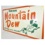 VIEW 2 36X60 MT. DEW SIGN W/ WILLIE