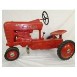 RESTORED ORIG. 400 MCCORMICK PEDAL TRACTOR
