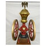 17IN 1873 ENGERPRISE DOUBLE WHEEL COFFEE W/ EAGLE