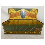 10X16 RUBY BANDS TIN COUNTER DISPLAY