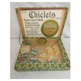 CHICLETS CHEWING GUM BOX W/ PRODUCT BY PEPSIN