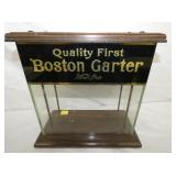 14X14 BOSTON GARTER GLASS DISPLAY CASE