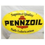 18X31 PENNZOIL LUBRICATION SIGN