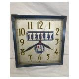 14IN TETLEY TEA TIME CLOCK