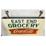 VIEW 3 OTHERSIDE 28X42 COKE SLED SIGN