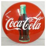 24IN OLD STOCK PAINTED COKE BUTTON