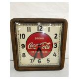 EARLY 16IN COKE CLOCK