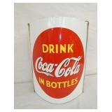 12X16 RARE COKE STRING HOLDER SIGN