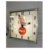 VIEW 3 RIGHTSIDE 24IN COKE CLOCK