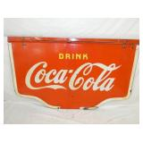 38X60 PORC. COKE SWINGER SIGN