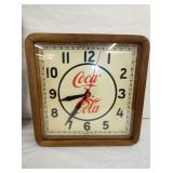 16IN ADV. COCA COLA CLOCK