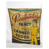 47X54 POCAHONTAS FOODS RELECTIVE SIGN