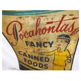 VIEW 2 CLOSEUP POCAHONTAS FOODS SIGN