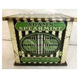 6X7 ADAMS SPEARMINT COUNTER TIN DISPLAY