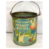 RARE 1LB. PETER RABBIT PEANUT BUTTER
