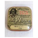 AP LITTLE BLACK AMERICANA RIBBON TIN