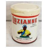 LUZIANNE COFFEE FREE SAMPLER TIN