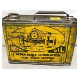1/2G. LIBERTY MOTOR OIL CAN W/ CAR