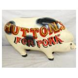 VIEW 2 OTHERSIDE HUTTONS PORK PIG SIGN