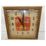 16IN COCA COLA SILOHETTE CLOCK