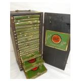 7X15 LUCKY STRIKE SALESMAN SAMPLER TINS