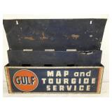 14X18 GULF MAP TOURGIDE WALL DISPLAY