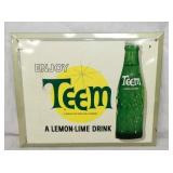 9X11 TEEM LEMON LIME DRINK EASEL BACK