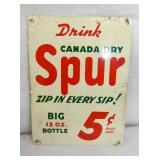 6X8 5CENT SPUR DRINK SIGN