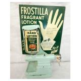 10X16 1CENT FROSTILLA LOTION DISPENSER W/ SIGN