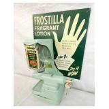 VIEW 2 FROSTILLA FRAGRNT LOTION WALL HANGER