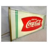 VIEW 2 LEFTSIDE COKE FISHTAIL LIGHTED SIGN