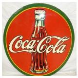 45IN 1938 COCA COLA SIGN