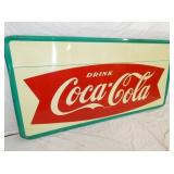 VIEW 2 LEFTSIDE 1954 COKE FISHTAIL SIGN