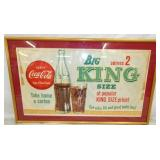 21X35 KING SIZE COKE PAPER AD