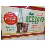 VIEW 2 KING SIZE PAER AD W/ BUTTON/BOTTLE