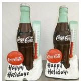 18X36 COKE HAPPY HOLIDAY LIGHTUP DISPLAYS