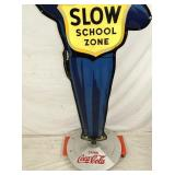 VIEW 3 NOS COCA COLA SCHOOL ZONE CROSSING SIGN