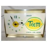 13X17 TEEM LIGHTED CLOCK
