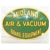 16X24 MIDLAND AIR & VACUUM EQUIP. SIGN