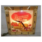 16IN PARAMOUNT ICE CREAM CLOCK